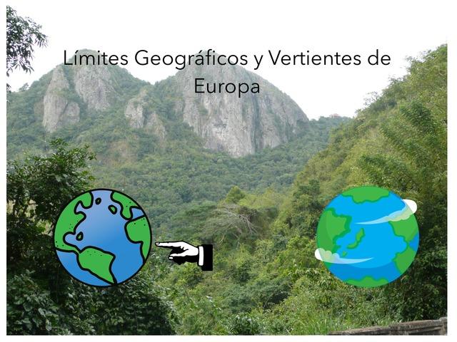 Límites Geográficos y Vertientes de Europa by Alberto Llanos Del toro