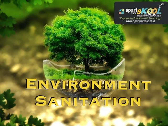 Environment Sanitation by TinyTap creator
