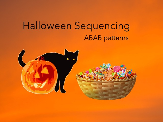 Sequencing: ABAB (Halloween) by Carol Smith