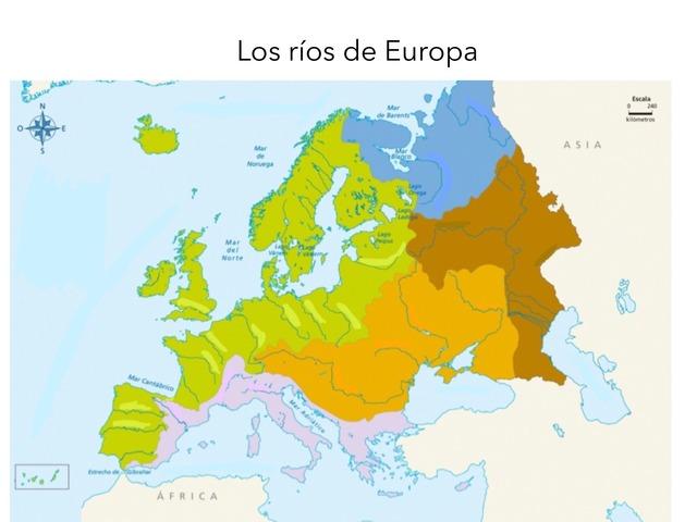 Rios De Europa by Amaya Sanchez Arias