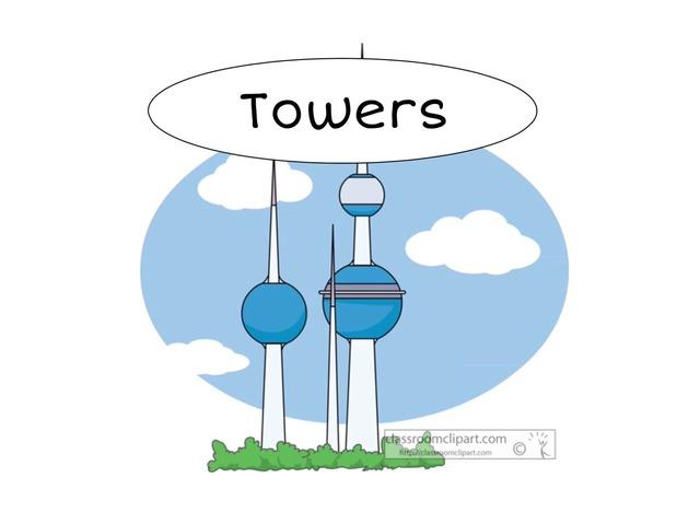 Towers by Zyonah Alhelwa