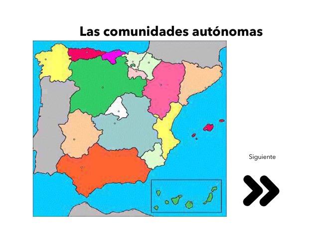 Comunidades Autónomas by Laura Soto Masso