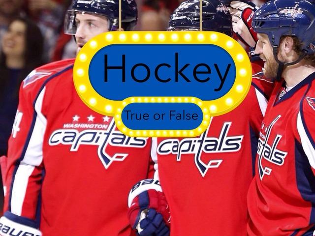 Hockey True Or False  by Ruby McClellan