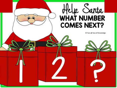 Help Santa Order Numbers - What Comes Next? by Yara Habanbou