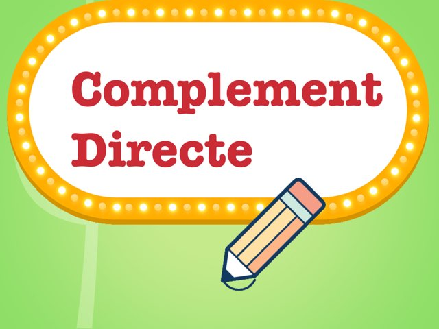 CD Complement Directe by Diego Campos