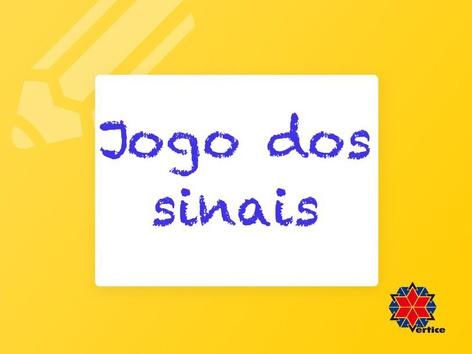 Jogo dos Sinais by Fabiana Silvério De Albuquerqu