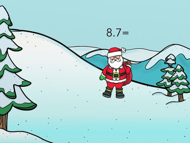 Multiplying With Santa by lama hussain al ibdah