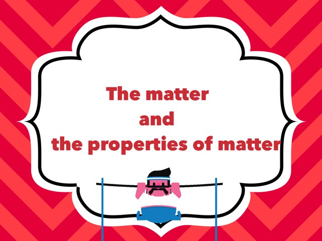 Matter Changes And Materials P5 U5 1/3 by Miss Jaw