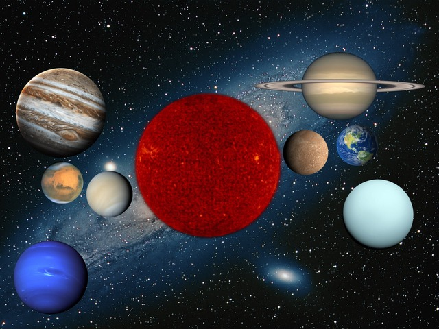 Sistema Solar by Faviana Ahonzo Ledezma