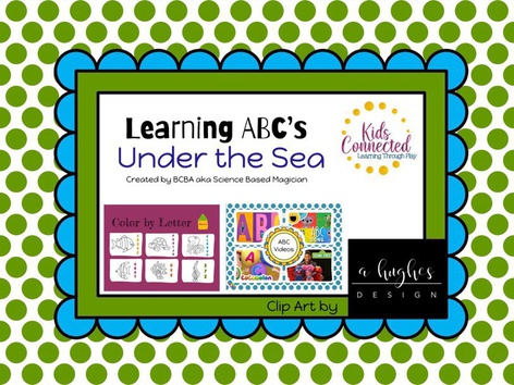 Paint By Letter: Under The Sea by Kids  Connected