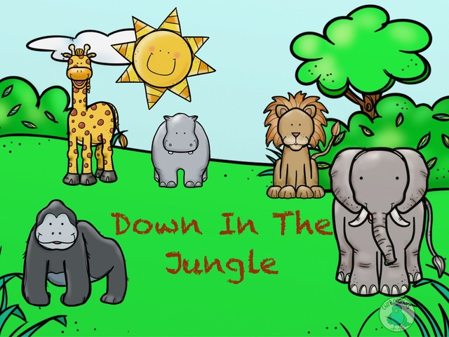 Down In The Jungle by SJ Edwards