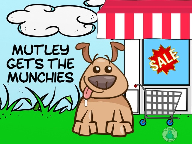 Mutley Gets The Munchies by Ellen Weber