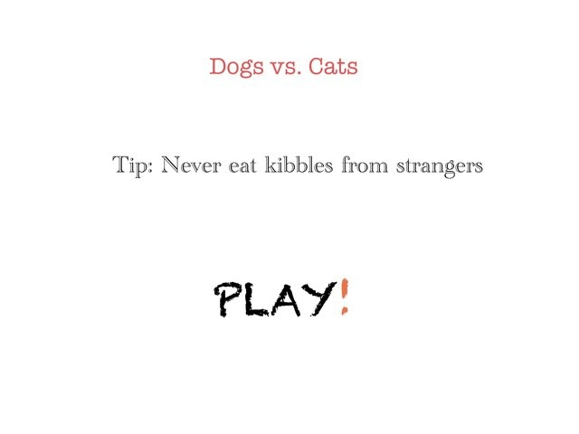 DOGS VS CATS!! by Pineapple Inc.