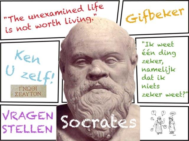 Socrates, filosoof by Caspar Middeldorp