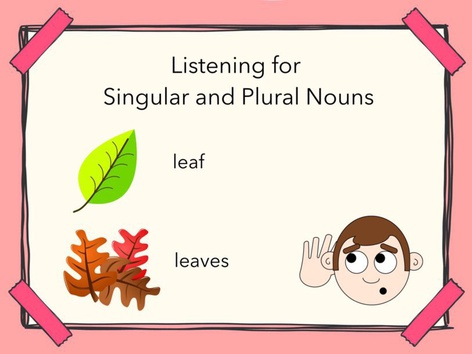 Plurals Nouns #3 by Carol Smith