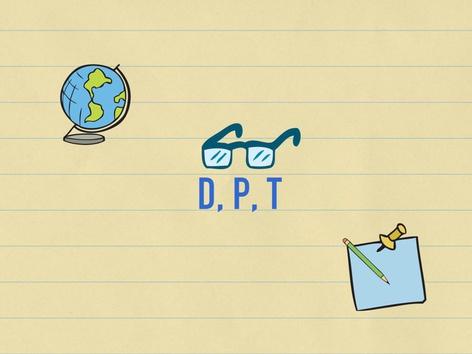 P, T e D by Raquel