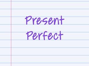 Present Perfect by Andriana Andrijević