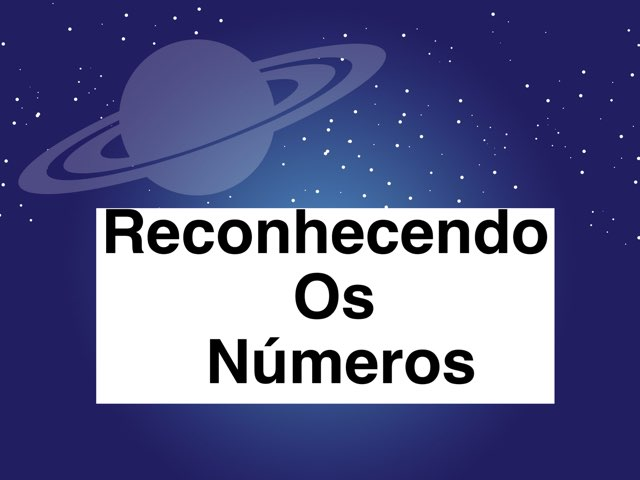 Reconhecendo Os Números by ۞Ste Lonza