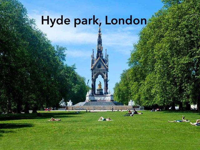 Hyde Park  by Fatimah Hakami