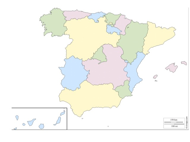 Las Comunidades Autonomas by Ana Torres Escribano