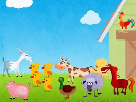 Farm Animals  by Ligia Pedriali de Mello