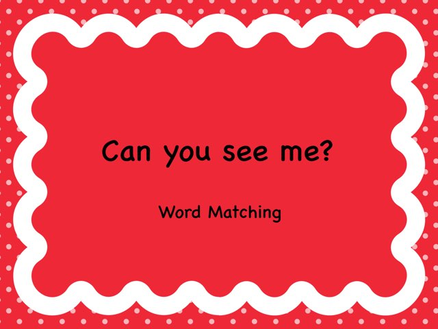 Find The Word Assessment by Catherine Mangan