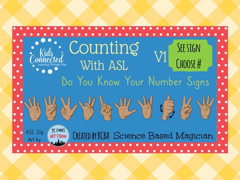Counting With ASL: Do You Know The Signs 1 by Kids  Connected