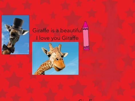 Giraffe by Lingzi Guo