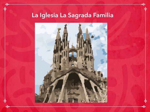 La Sagrada Familia  by Rodica Harvey