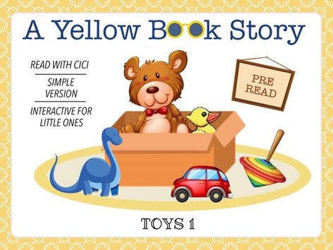 Yellow Book - Toys 1 (With CiCi) by Cici Lampe