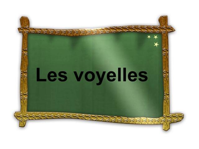 Les Voyelles  by Lydia Bu