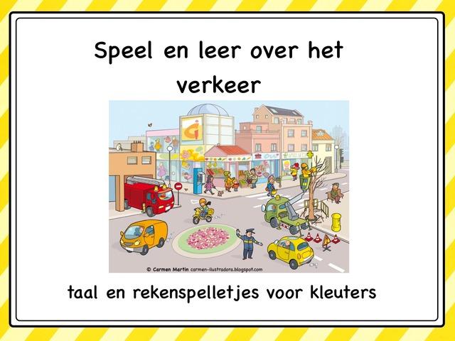 Speel en leer over het verkeer by Lonneke de Wit