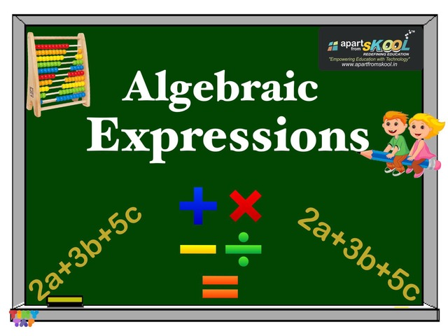 Algebraic Expressions  by TinyTap creator