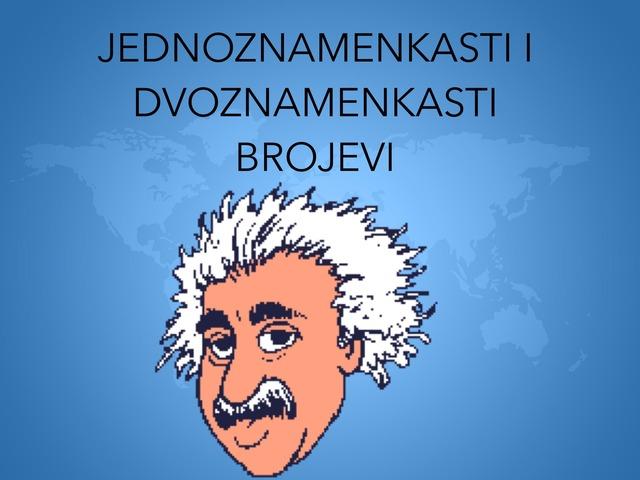 Jednoznamenkasti I Dvoznamenkasti Brojevi by natasa delac