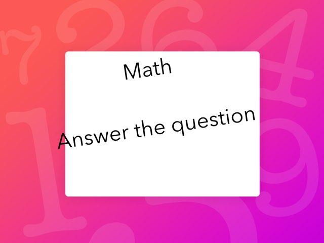 Math by Penelope Johnson