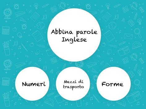 Abbina Parole Inglese 3c. by Monica Failla