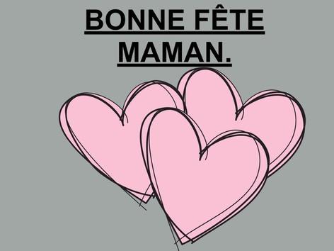 Bonne Fête Maman. by Valerie Escalpade