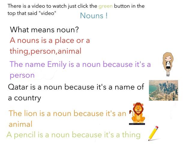 All About Nouns! by Rahma Rashid