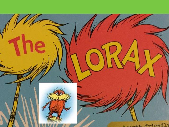 The Lorax Story Comprehension  by Mireya chadwick