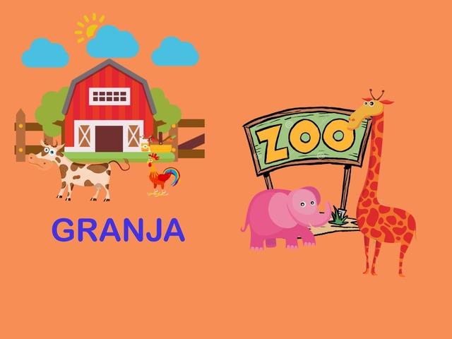 Animales De La Granja Y Del Zoo by Francisca Sánchez Martínez