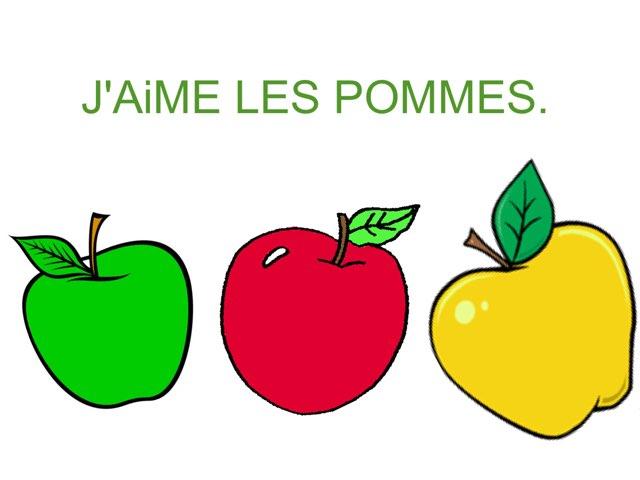 CHANSON LES POMMES. by Valerie Escalpade