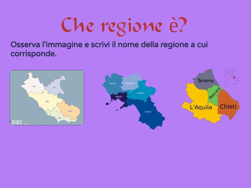 CHE REGIONE è? by raffa dg
