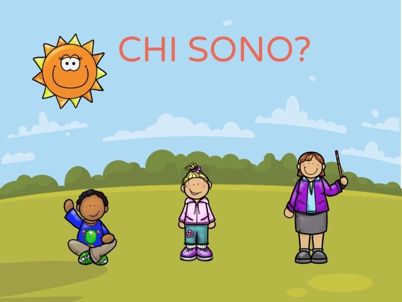 CHI SONO? by LAURA PULLARA