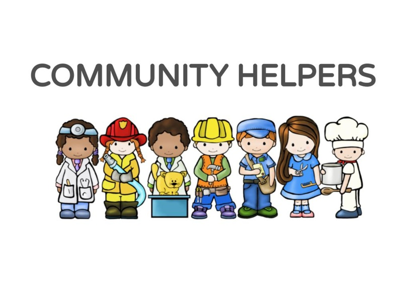 COMMUNITY HELPERS by VICTORIA BENGOLEA