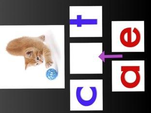CVC Words- Identifying Middle Vowel Sound by C O Grady
