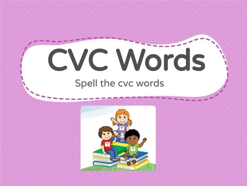 CVC Words by Fiona Garmonsway