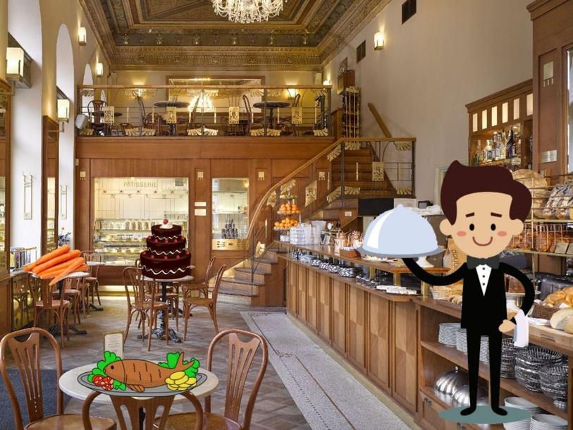 Cafe by Карина Михайловская