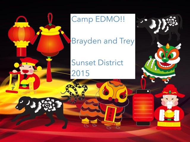 Camp EDMO!!! by Edventure More -  Conrad Guevara