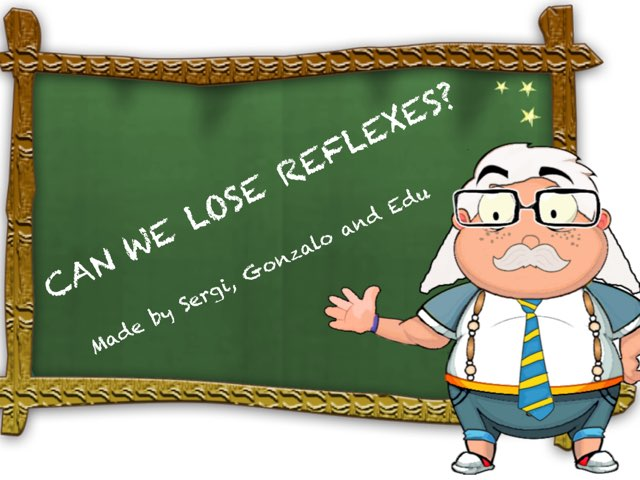 Can We Lose Reflexes? by Diego Campos