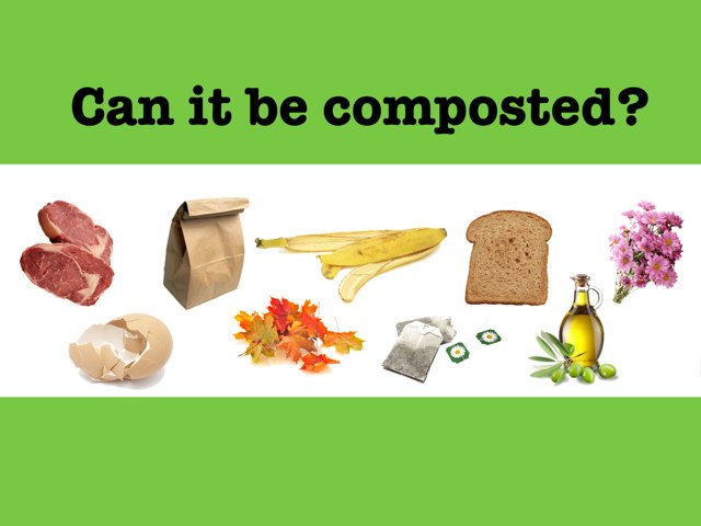 Can it be composted? by Leslie Burke